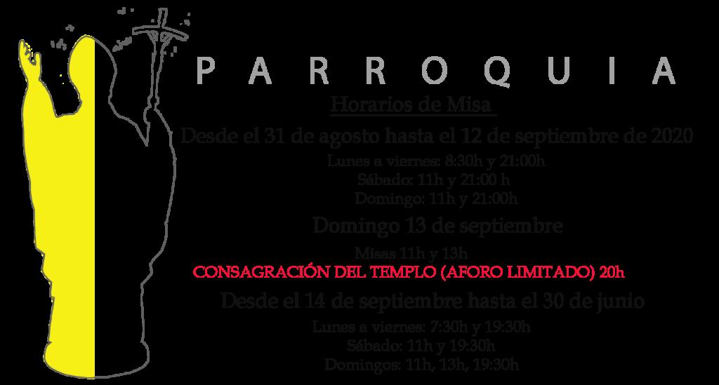 Hoarios SAN JUAN PABLO II